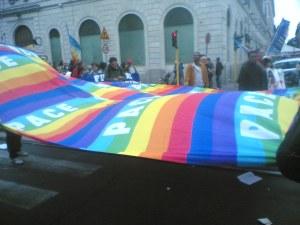 manifestazione antirazzista roma