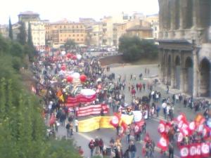 manifestazione roma 2